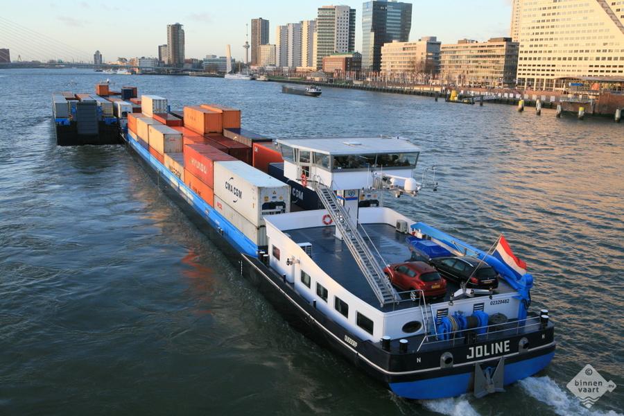 Binnenvaart Rotterdam