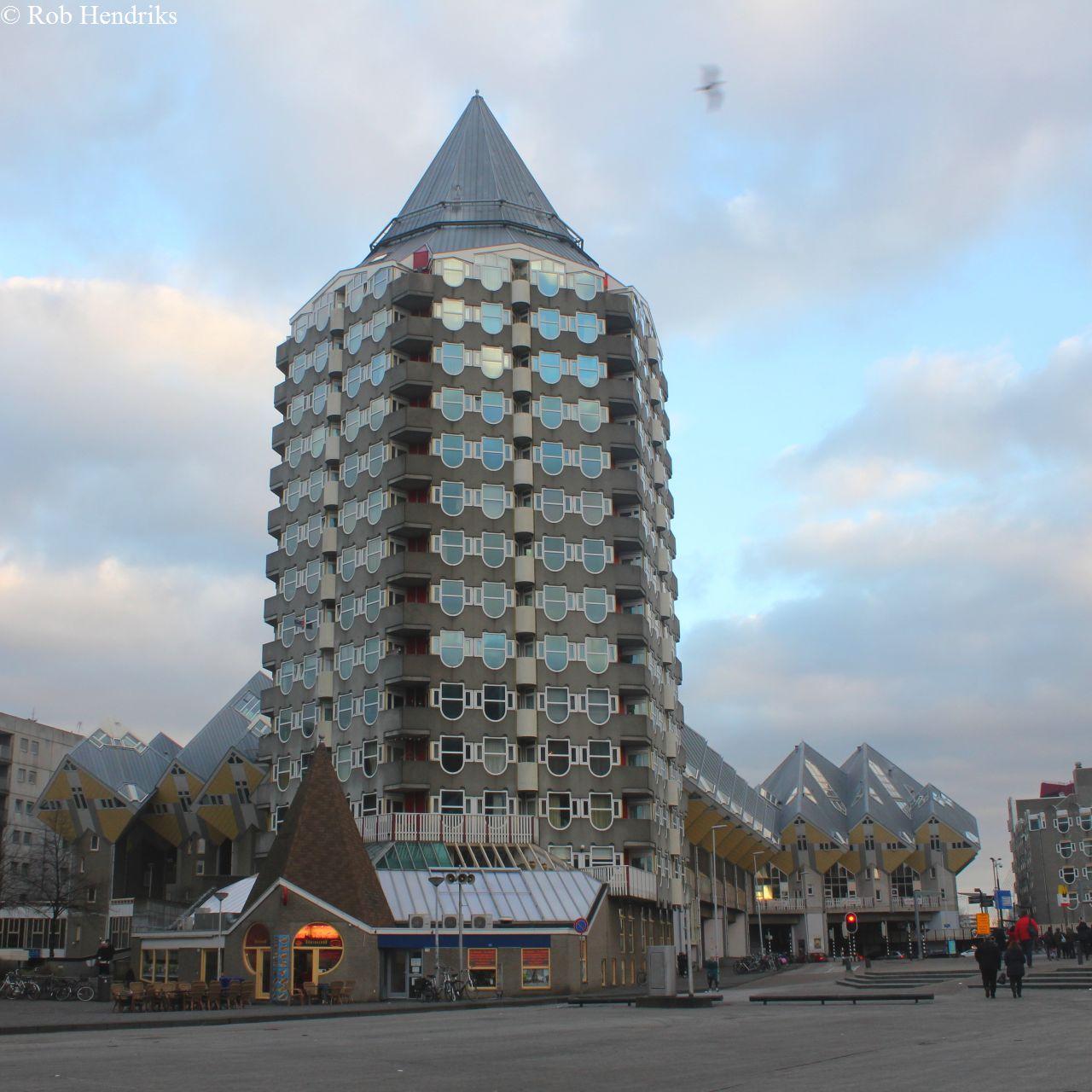 De Blaaktoren 'het Potlood' Rotterdam