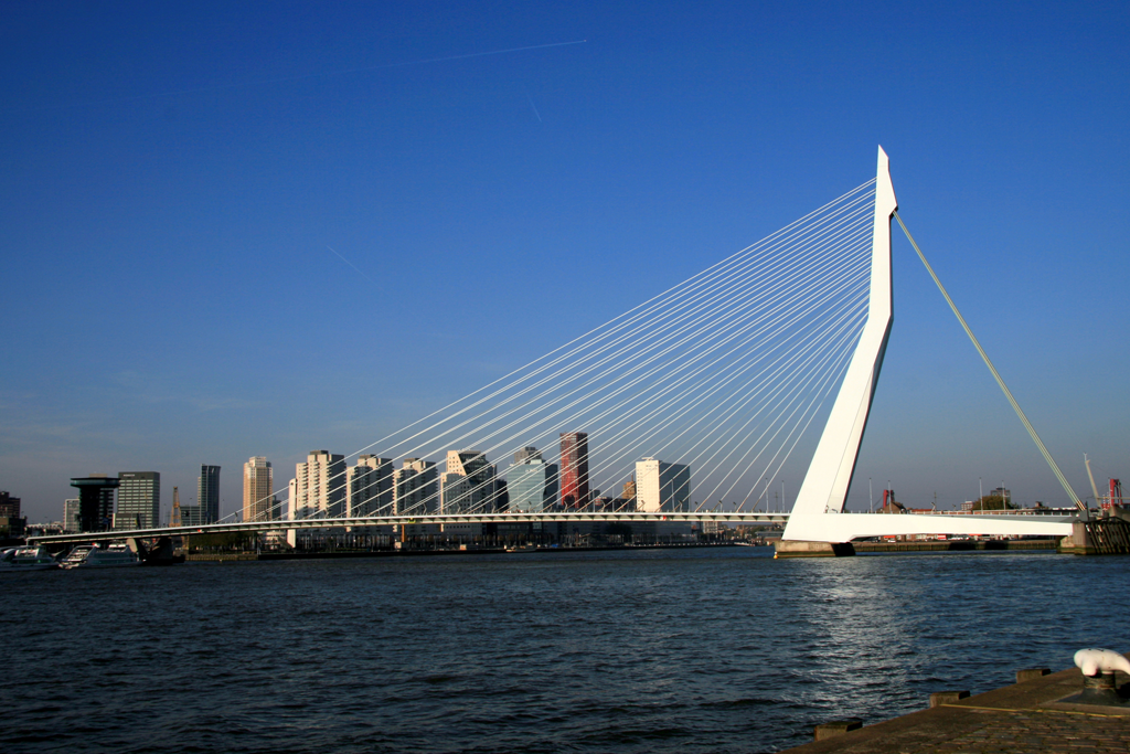 Erasmusbrug 'de Zwaan' Rotterdam