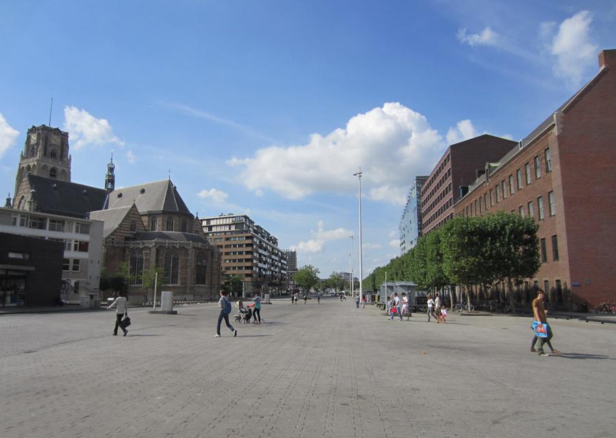 Binnerotteplein 'Landingsbaan' Rotterdam