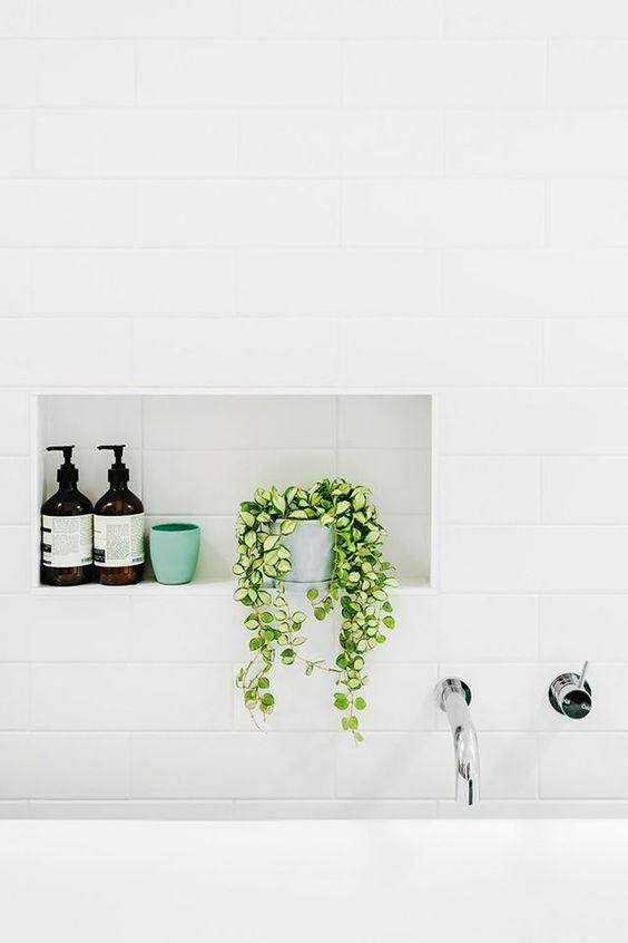 Badkamertrend 2016 groene planten