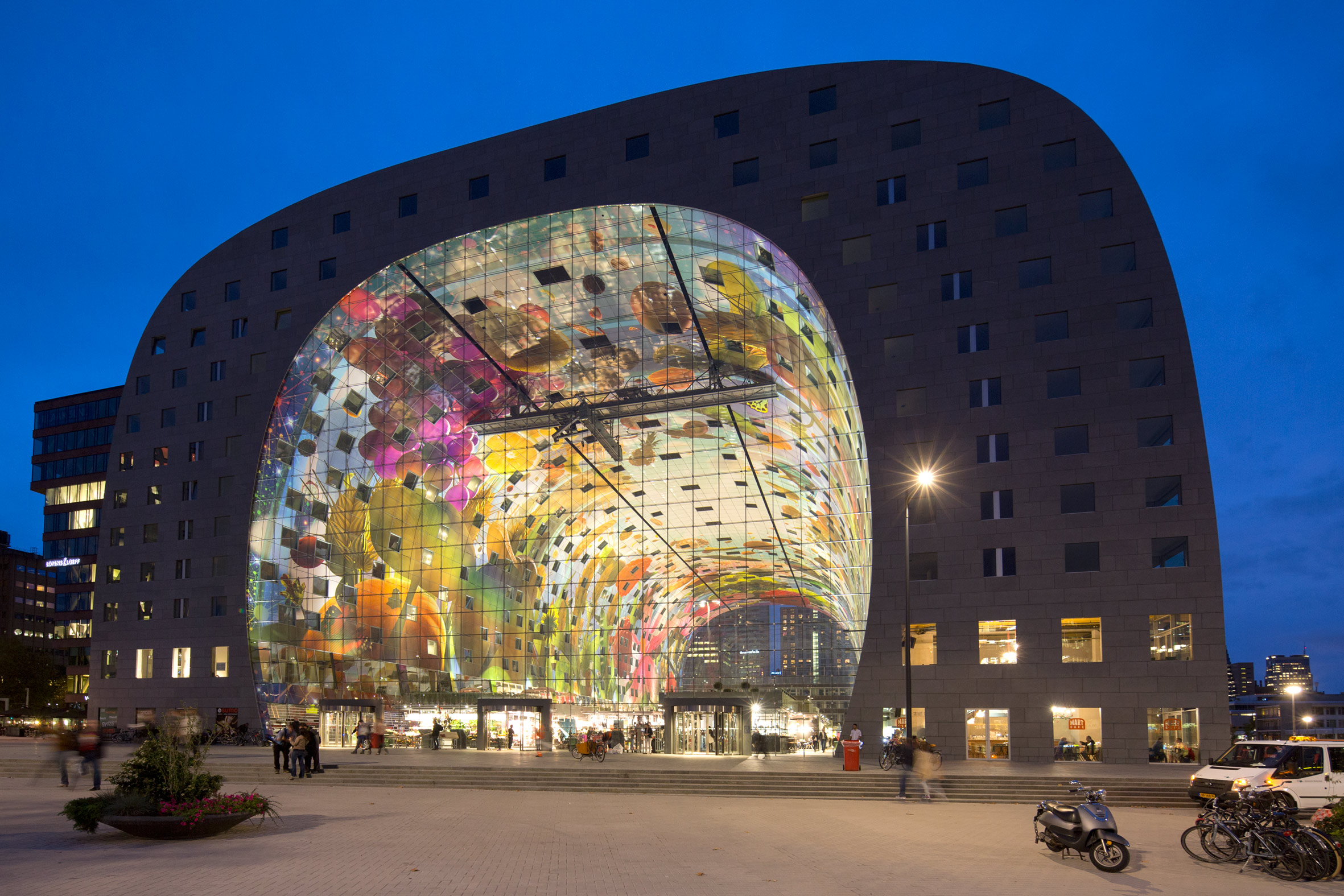 Markthal Rotterdam centrum