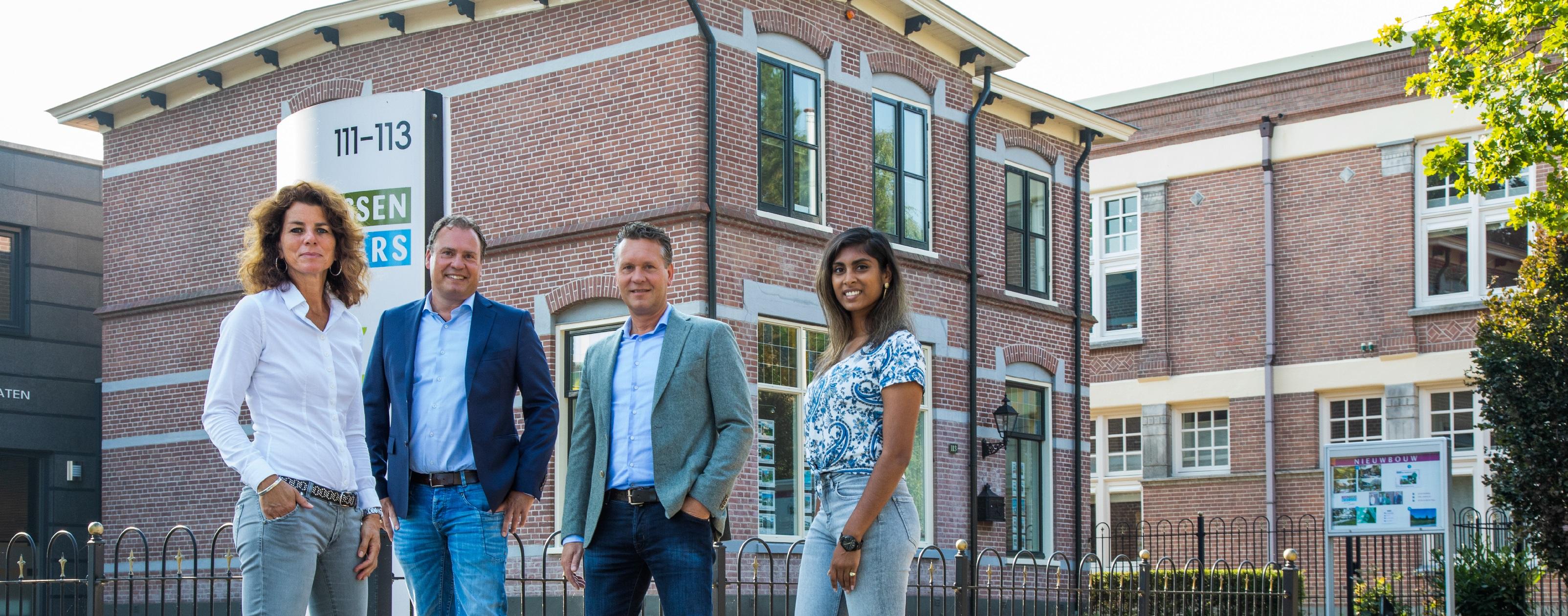 Team Van Dijk Van Essen Makelaars kantoor Veenendaal