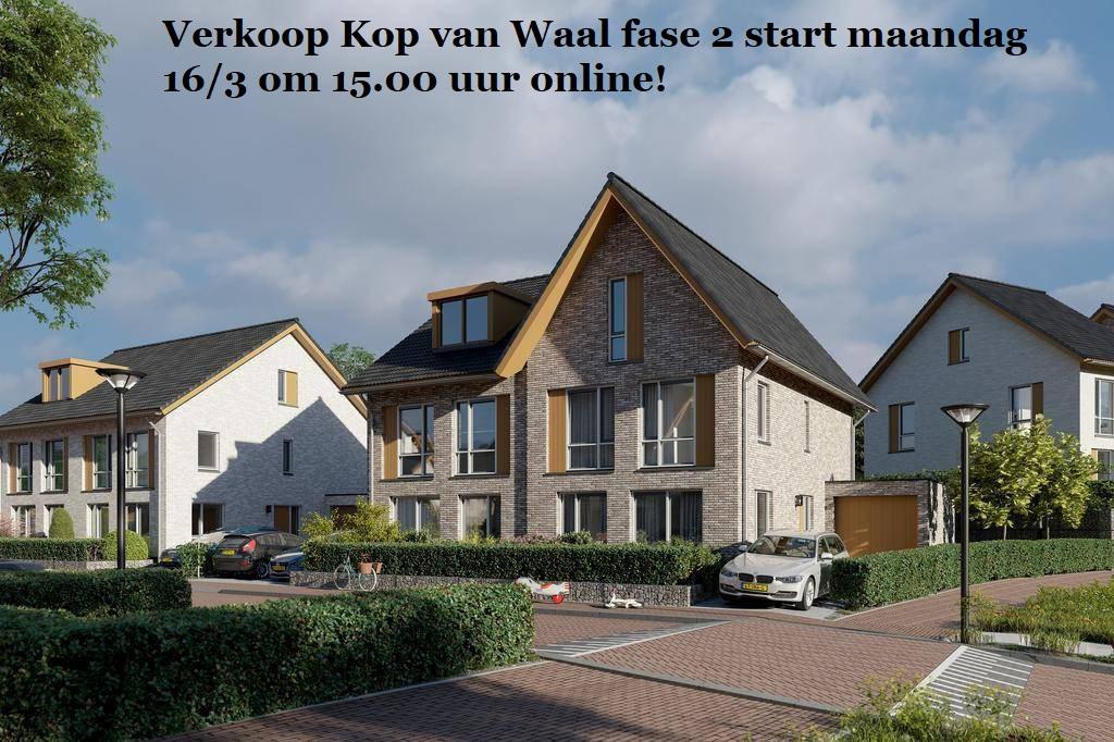 De verkoop Kop van Waal fase 2 komt eraan!