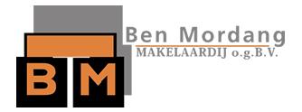 Logo Ben Mordang makelaardij o.g. B.V.
