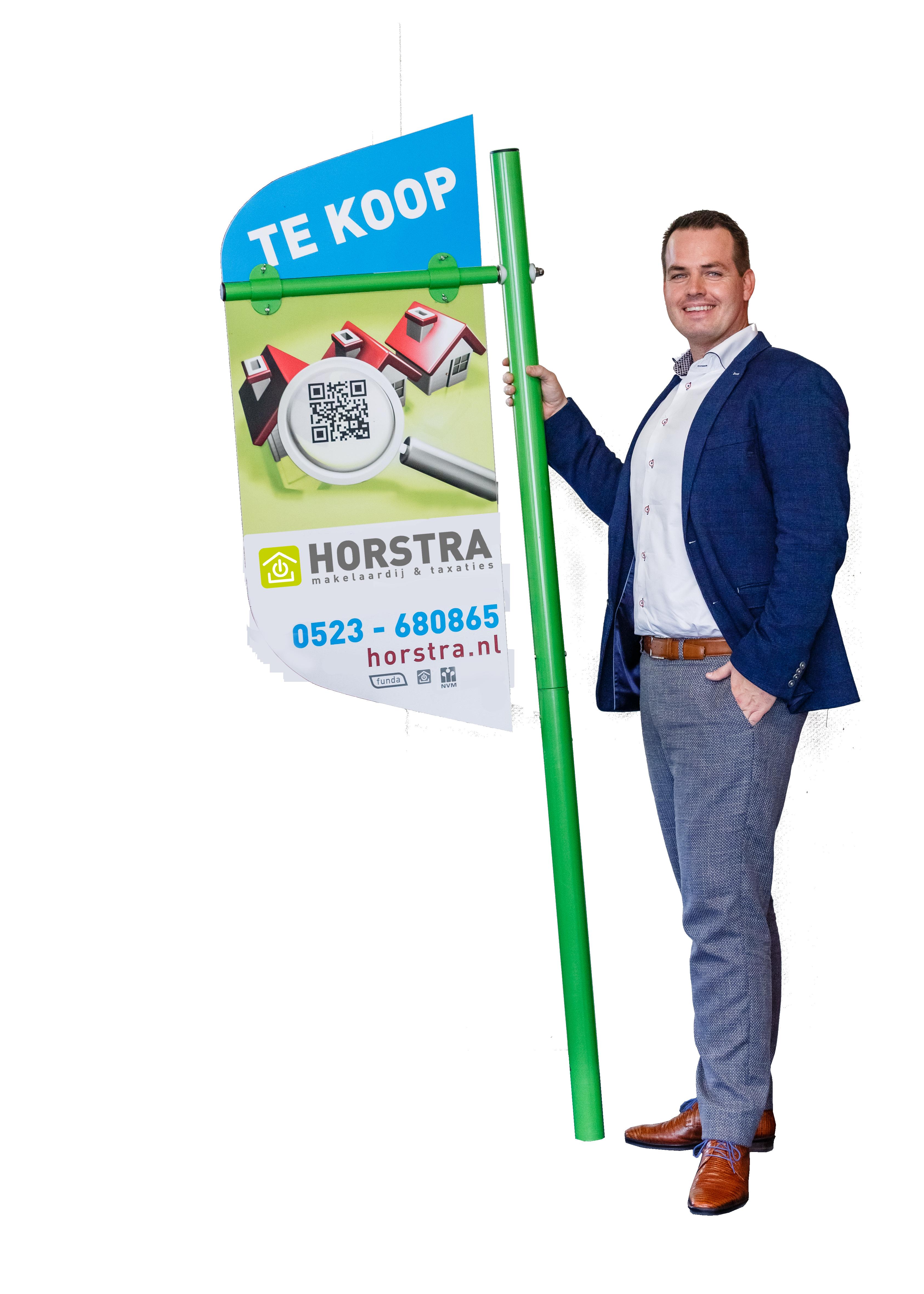 Makelaar Hardenberg Johan Horstra
