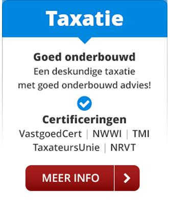 Taxatie Hardenberg: deskundige taxatie met goed onderbouwd advies