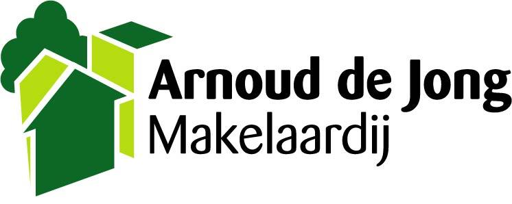 Logo Arnoud de Jong Makelaardij B.V.