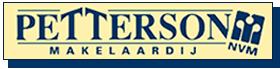 Logo Petterson Makelaardij en Taxaties