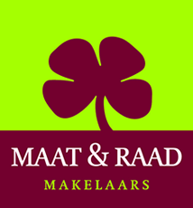 Logo Maat & Raad makelaars