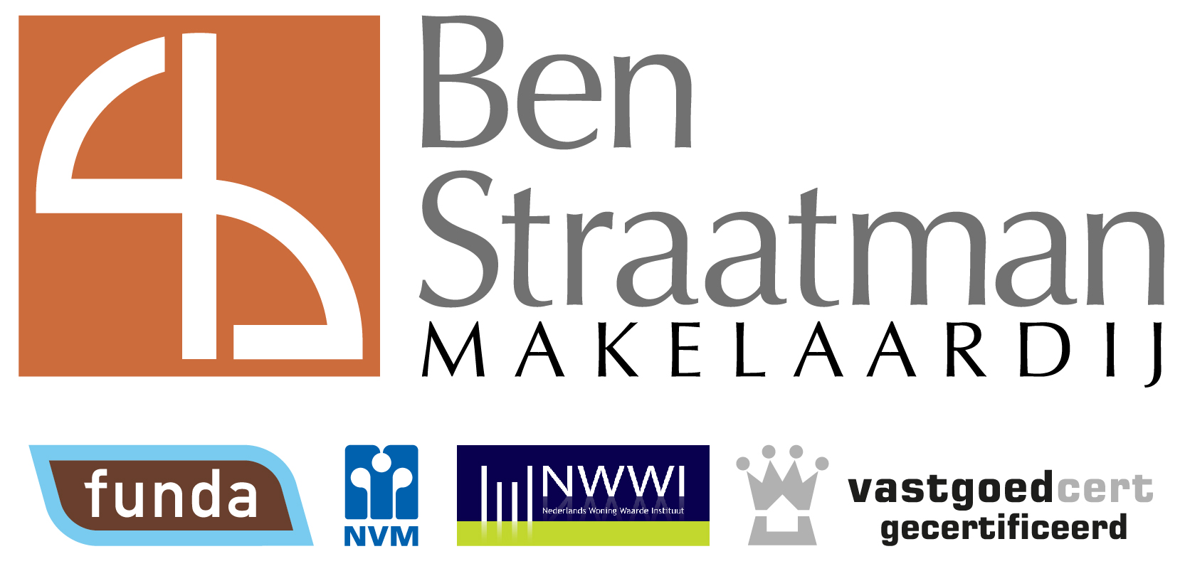 Logo Ben Straatman Makelaardij