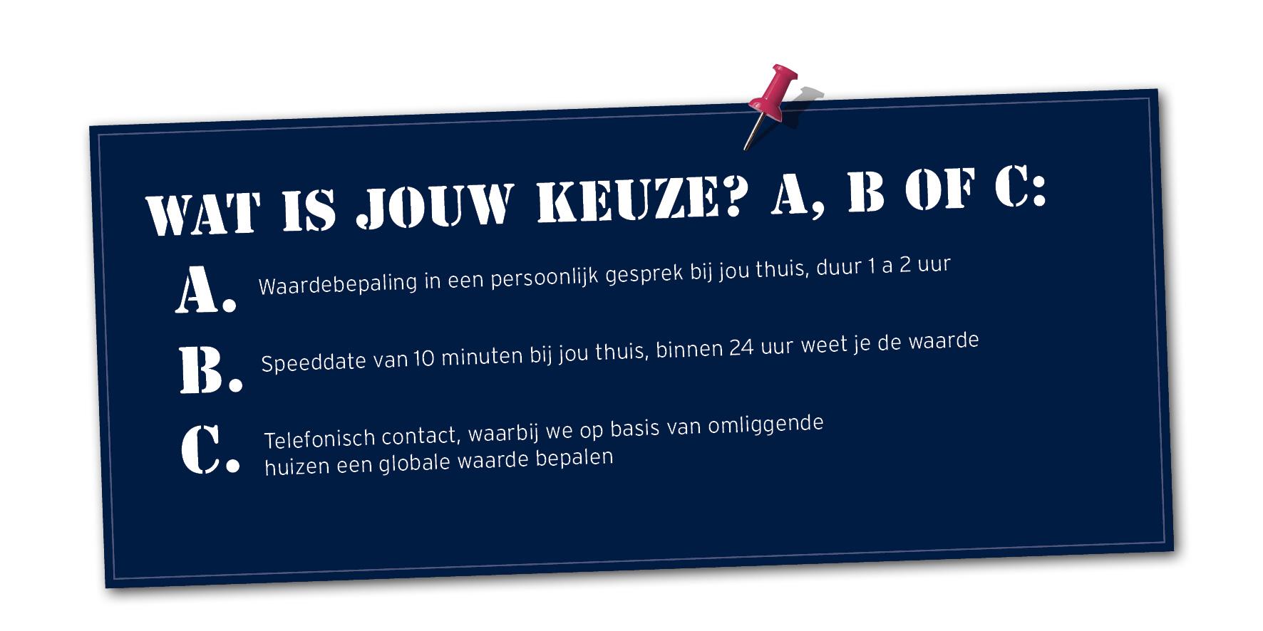 Gratis waardebepaling bij Woonaccent Makelaars Westerbork