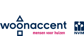 Logo Woonaccent Makelaars De Meierij bv