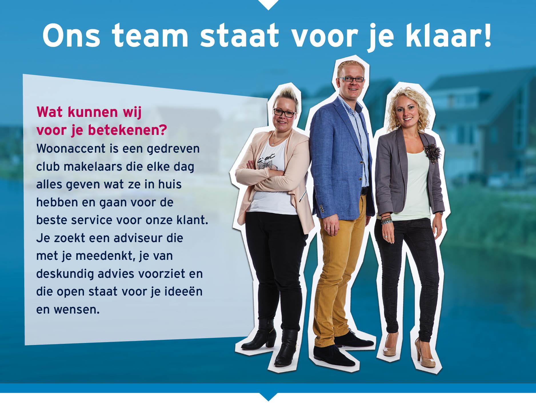 Maak kennis met de medewerkers van Woonaccent Makelaars Enschede