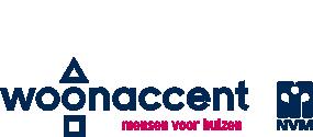Logo Woonaccent NVM Makelaars Almere