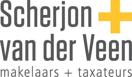 Logo Scherjon + Van der Veen Makelaars