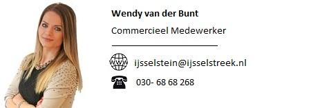 Foto en informatie Wendy van der Bunt