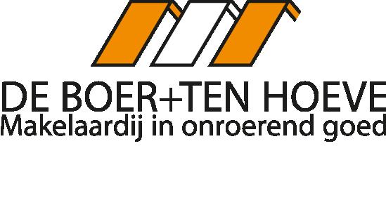 Logo De Boer + Ten Hoeve Makelaardij o.g.