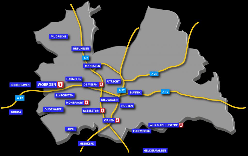 IJsselstreek Zakelijk werkgebied