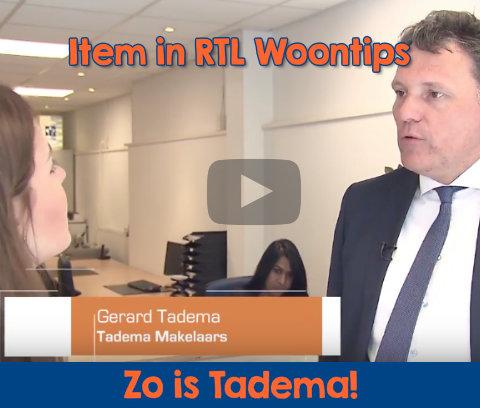 Tadema Makelaars Leeuwarden in RTL woontips