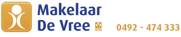 Logo Makelaar De Vree in Helmond