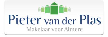 Logo Pieter van der Plas Makelaar voor Almere