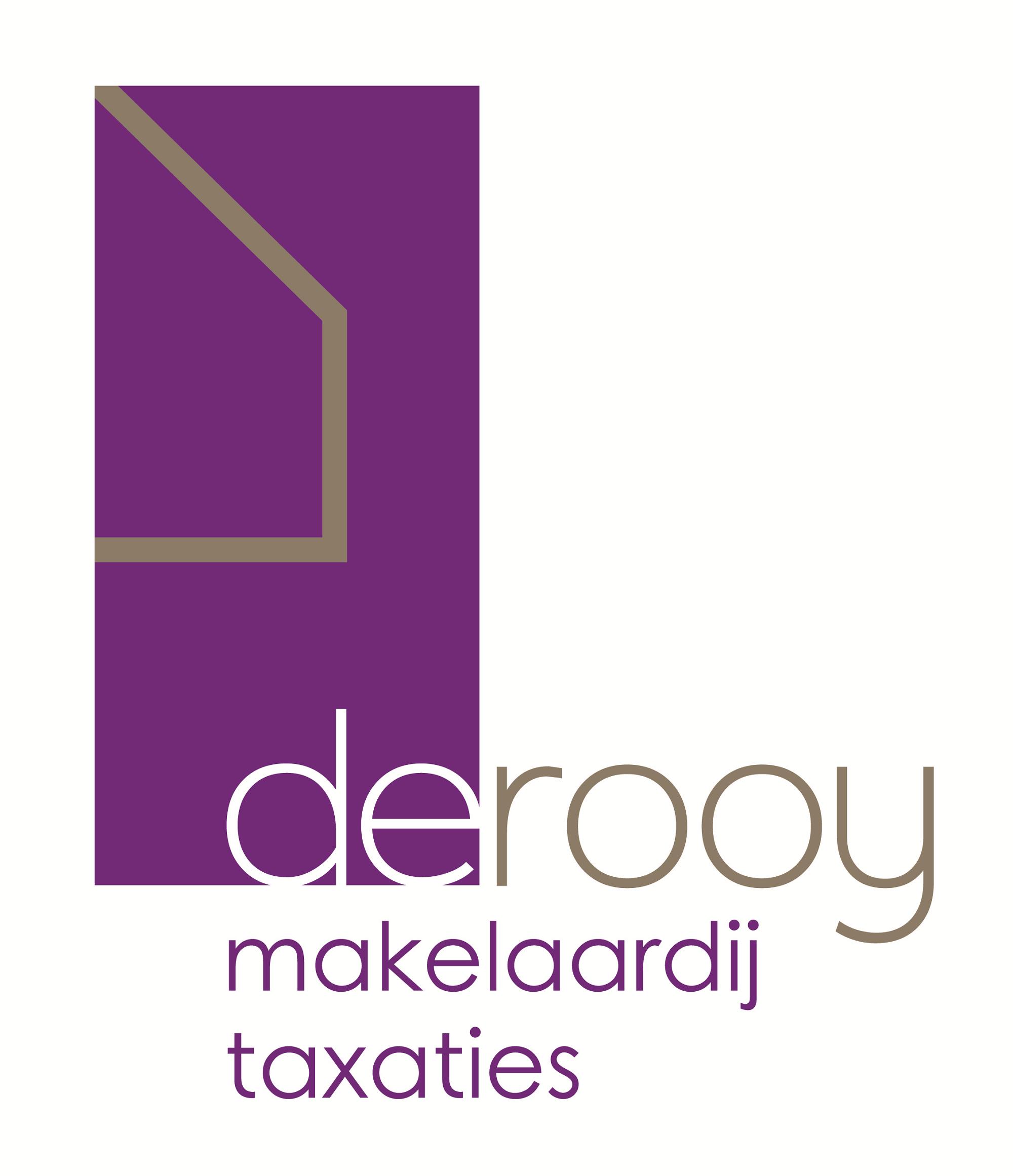 Logo De Rooy makelaardij & taxaties