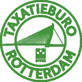 Logo Taxatieburo Rotterdam
