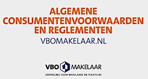 Algemene consumentenvoorwaarden Zomer Makelaars Zwolle, lid VBO