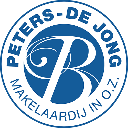 Logo Peters-de Jong Makelaardij in o.z.