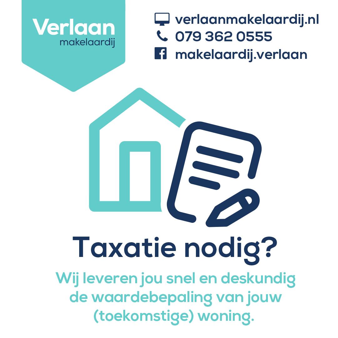 Taxatie nodig? Verlaan Makelaardij uit Zoetermeer schat jouw woning op waarde!