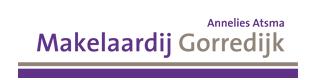 Logo Makelaardij Gorredijk, Annelies Atsma