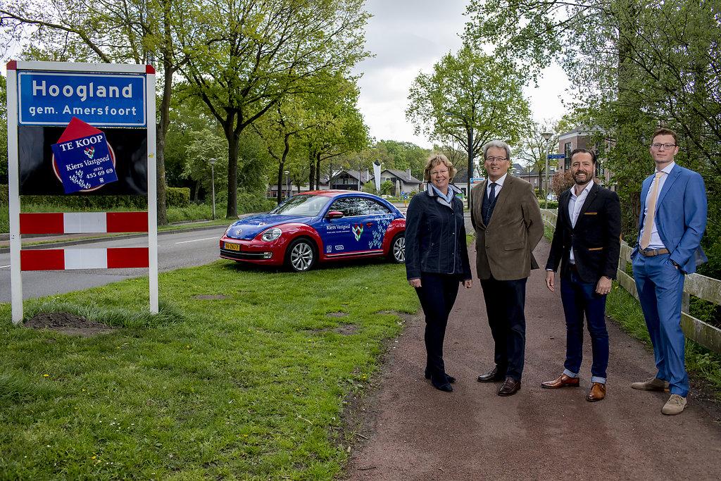 Het team van Kiers Vastgoed Makelaar in Hoogland Amersfoort