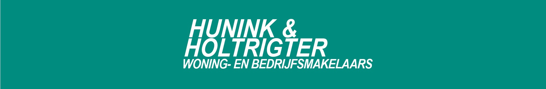 Logo Hunink & Holtrigter Woning- en Bedrijfsmakelaars