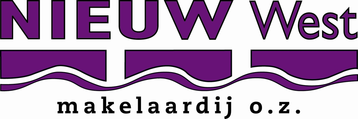 Logo Nieuw West Makelaardij B.V.