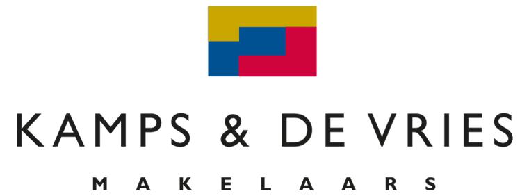 Logo Kamps & De Vries Makelaars V.O.F.