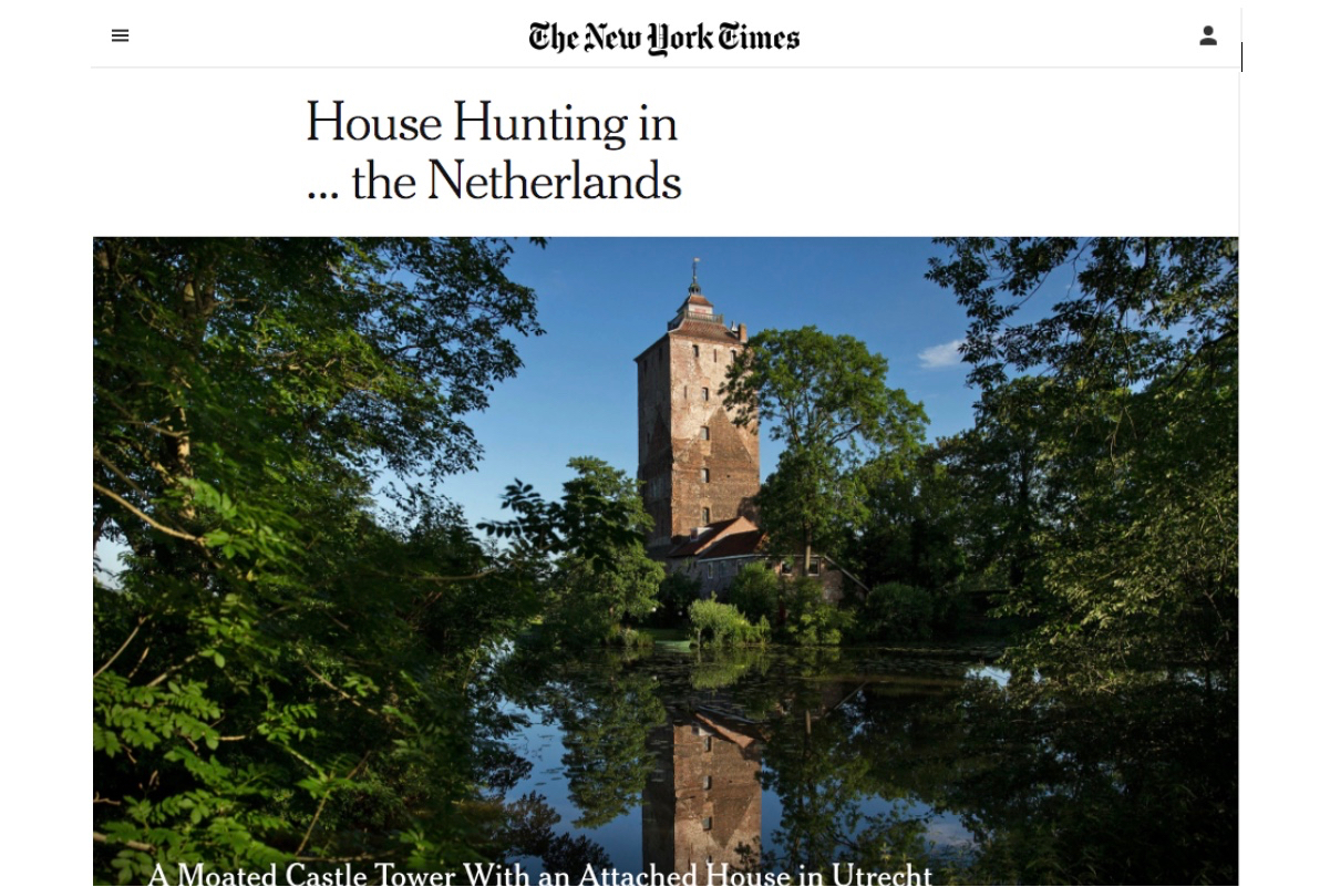 The New York Times House Hunting In The Netherlands Sotheby's International Realty