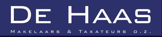 Logo De Haas makelaars & taxateurs o.z.