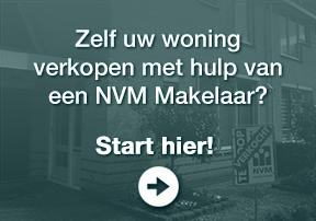 Zelf uw woning  verkopen met hulp van een NVM Makelaar