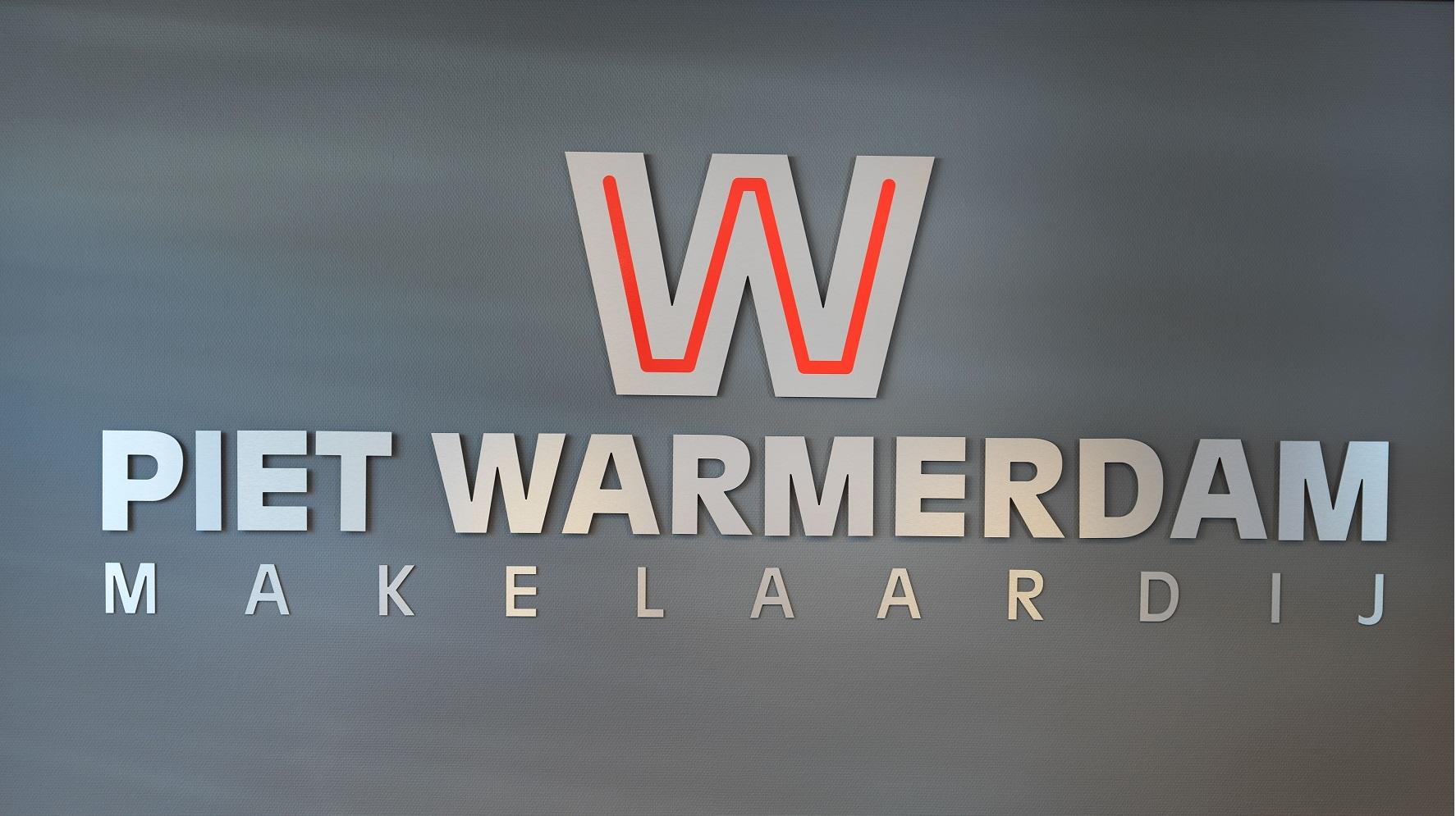 Logo Piet Warmerdam Makelaardij
