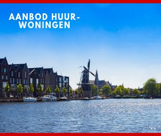 Aanbod huurwoningen Haarlem en omgeving stadsbeeld Molen de Adriaan
